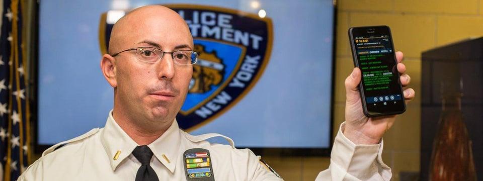 Điện thoại Windows Phone sẽ giúp cảnh sát New York phòng chống tội phạm và liên kết cộng đồng