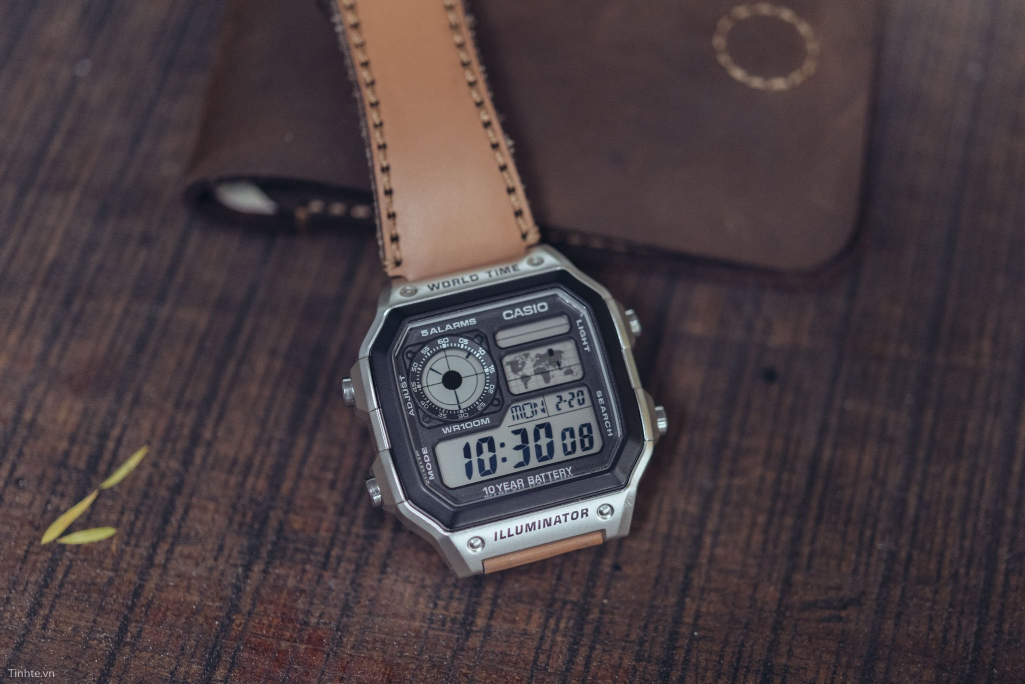 đồng hồ Casio 1200WHD